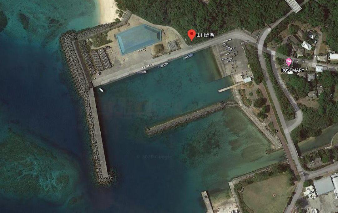 山川漁港-全体像