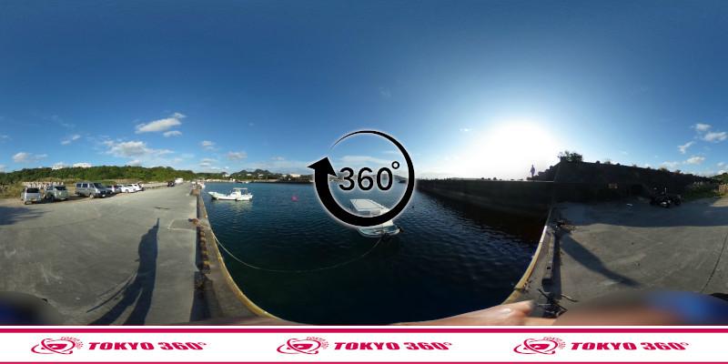 山川漁港-360度写真-05