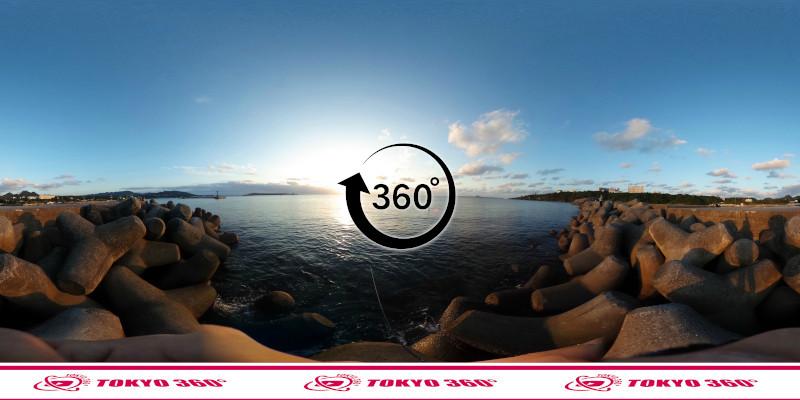 山川漁港-360度写真-07