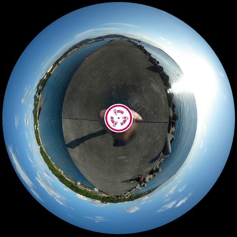 山川漁港-360度写真