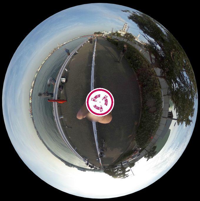 根岸港-360度写真