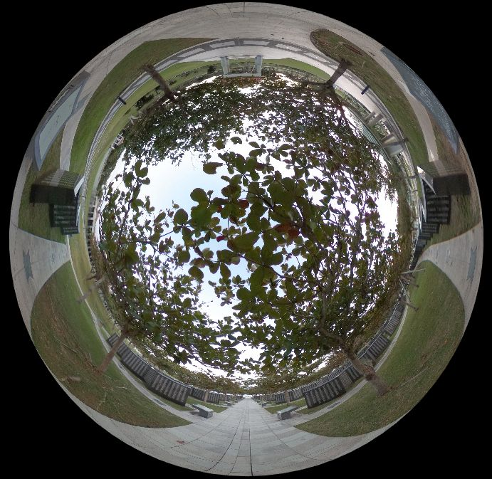平和の礎-360度写真