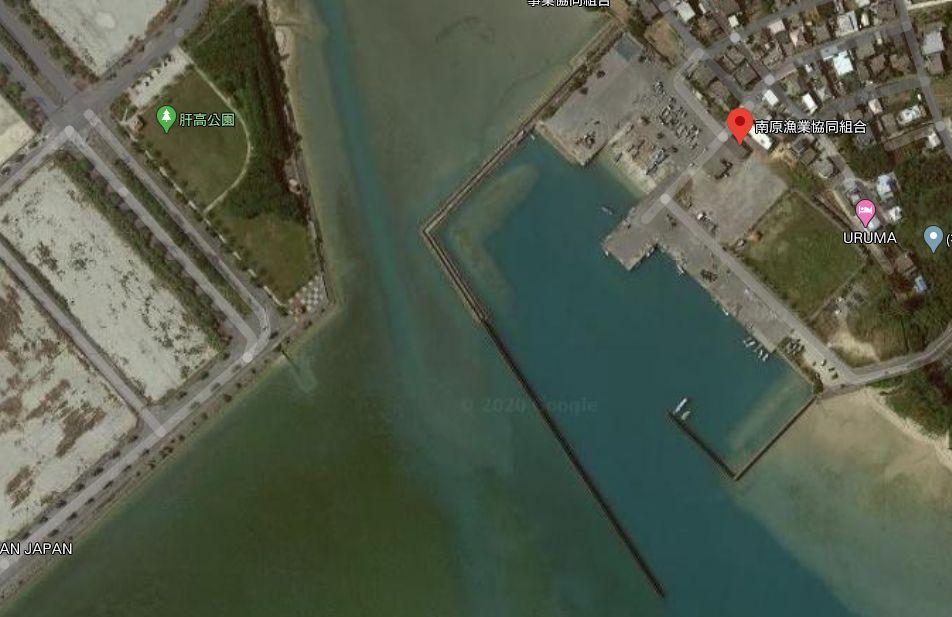 南原漁港の全体像