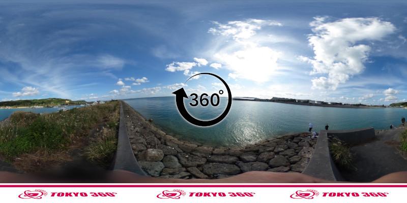桃原漁港-360度写真