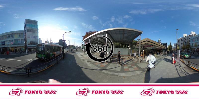 原宿駅-360度写真-03
