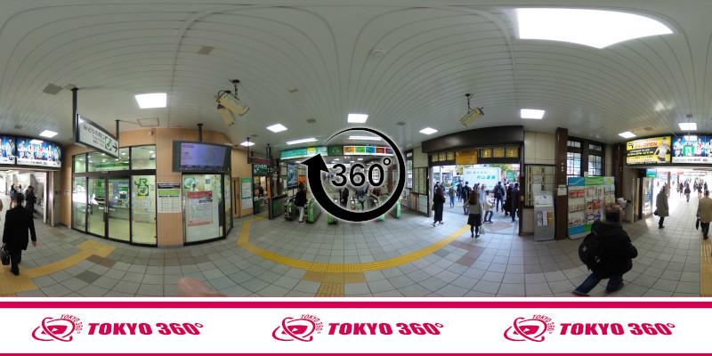原宿駅-360度写真-04