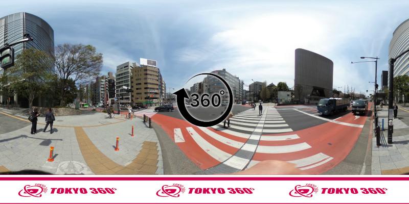 千鳥ヶ淵の桜-360度写真-06