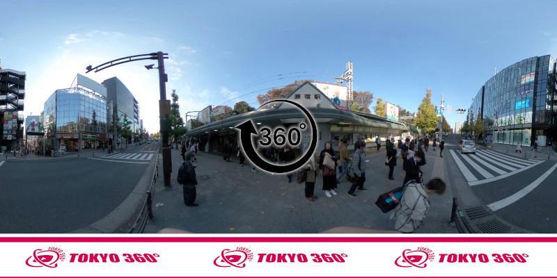 原宿駅-360度写真-06