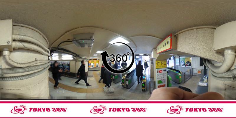 原宿駅-360度写真-07