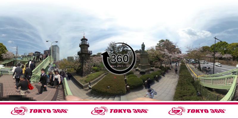 千鳥ヶ淵の桜-360度写真-08
