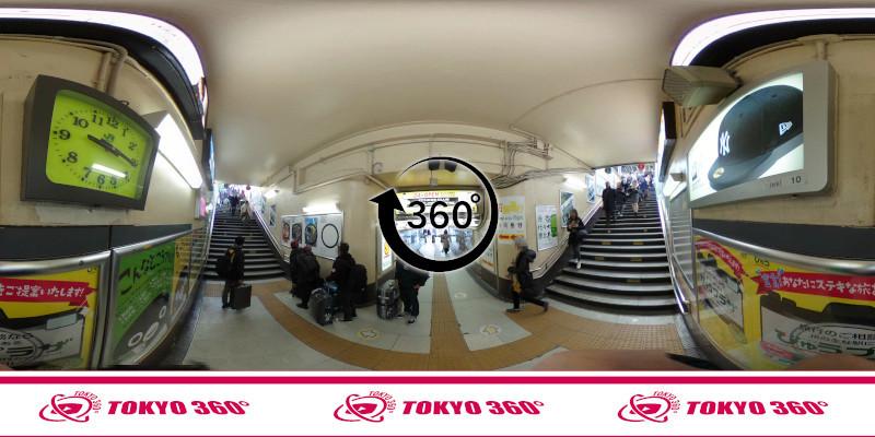 原宿駅-360度写真-08
