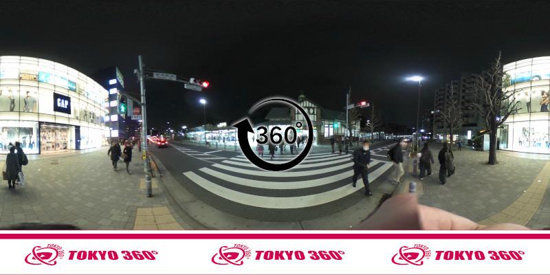 原宿駅-360度写真-13