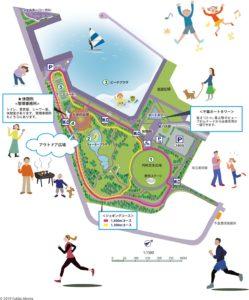千葉ポートパーク-園内地図