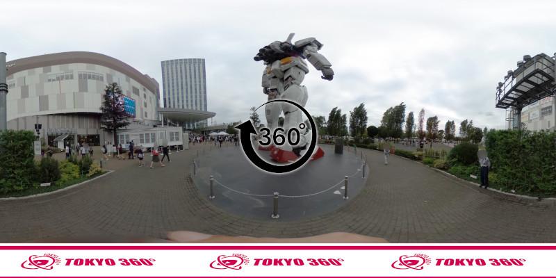お台場のガンダム-360度写真-04