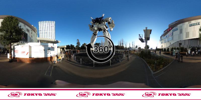 お台場のガンダム-360度写真-05