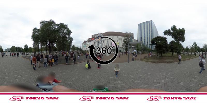 お台場のガンダム-360度写真-06