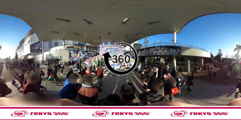 お台場のガンダム-360度写真-07