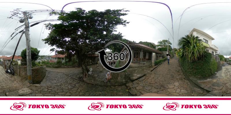 金城町石畳道-360度写真-03
