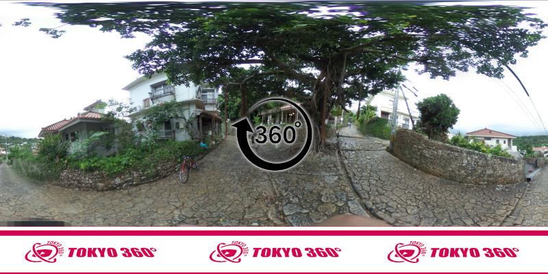 金城町石畳道-360度写真-04