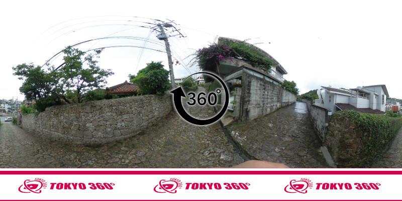 金城町石畳道-360度写真-06
