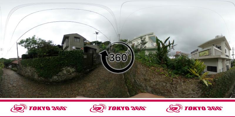 金城町石畳道-360度写真-09
