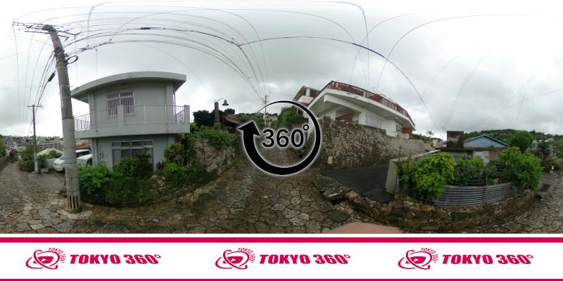 金城町石畳道-360度写真-10