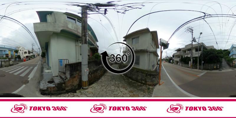 金城町石畳道-360度写真-11
