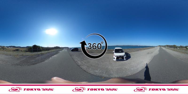 沖ノ島護岸-360度写真-04