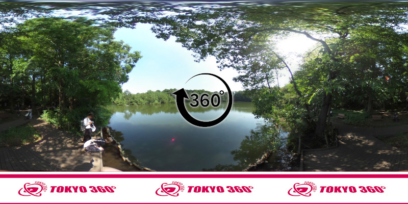 石神井公園-360度写真-03