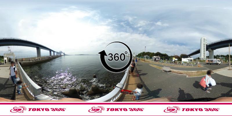 若洲海浜公園-釣り-360度写真-04