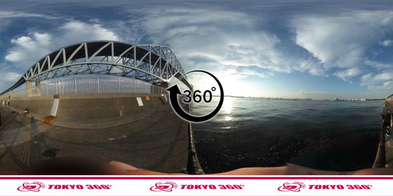 若洲海浜公園-釣り-360度写真-08