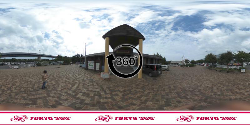 若洲海浜公園-釣り-360度写真-13