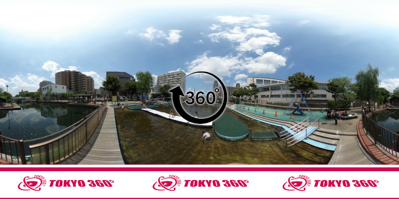 横十間川親水公園-360度写真-03