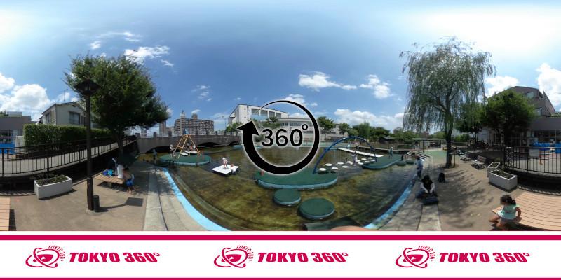 横十間川親水公園-360度写真-04