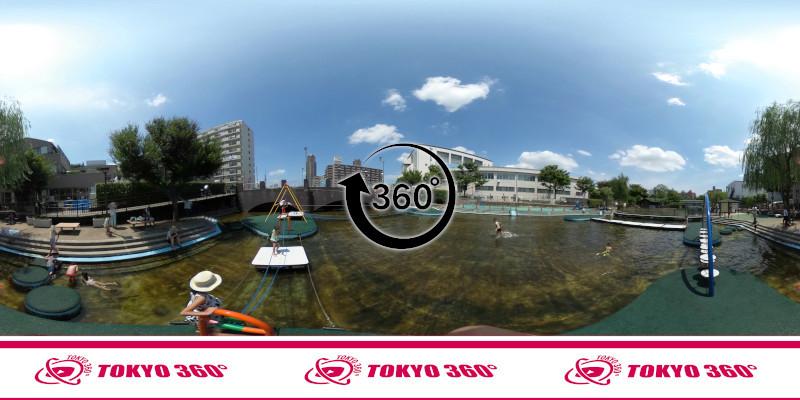 横十間川親水公園-360度写真-05
