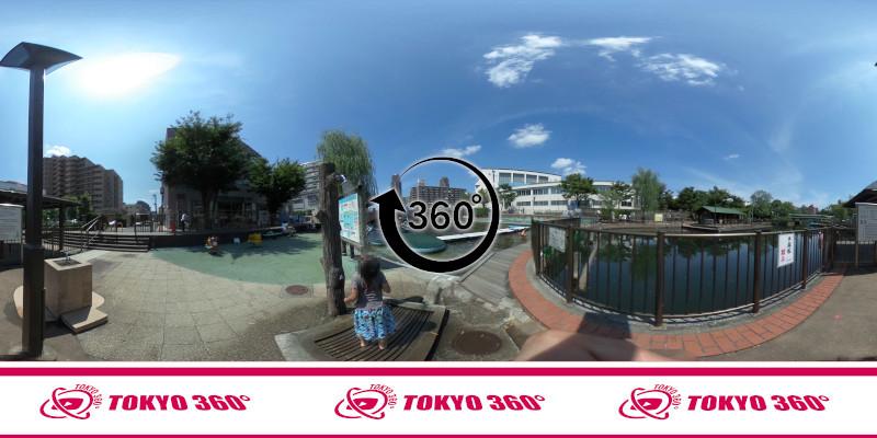 横十間川親水公園-360度写真-06