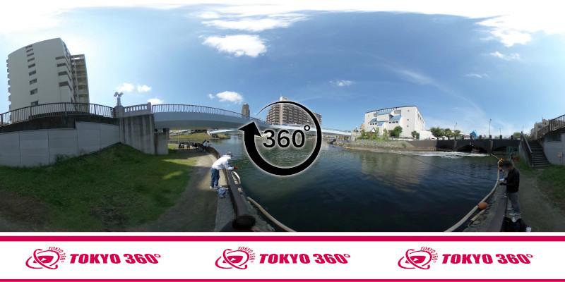 横十間川親水公園-360度写真-09