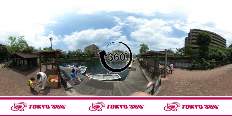 横十間川親水公園-360度写真-11