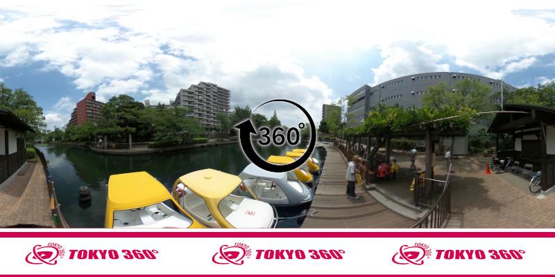 横十間川親水公園-360度写真-13