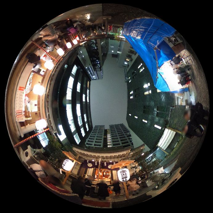 宮益御嶽神社-360度写真