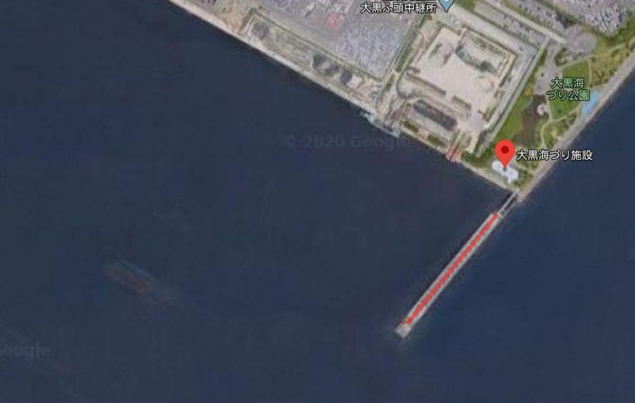 大黒海づり施設-全体像