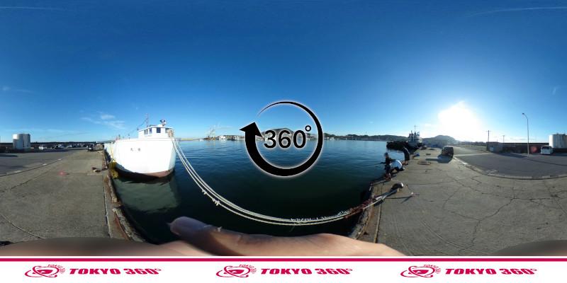 船形漁港-釣り-360度写真-07
