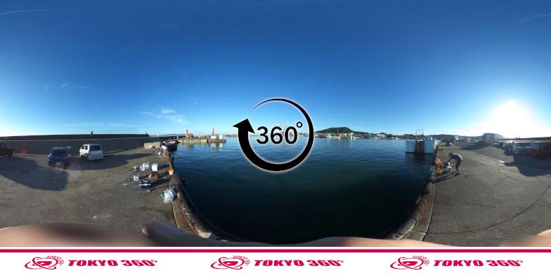 船形漁港-360度写真
