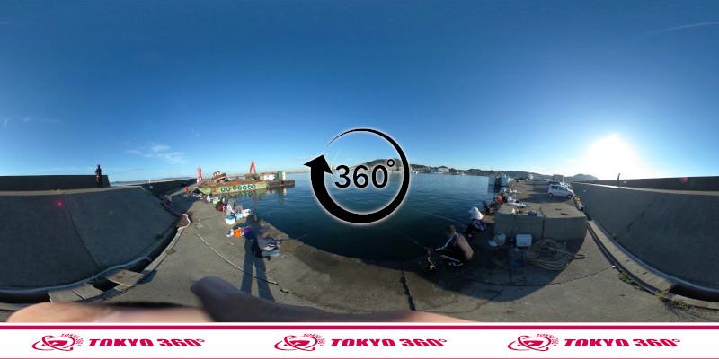 船形漁港-釣り-360度写真-10