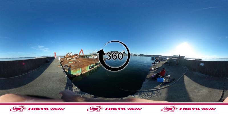 船形漁港-釣り-360度写真-11