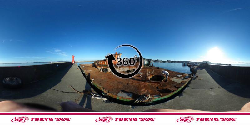 船形漁港-釣り-360度写真-12