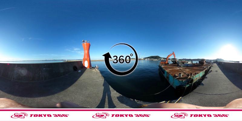 船形漁港-釣り-360度写真-13