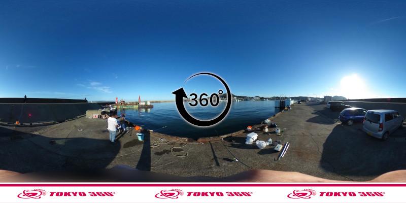 船形漁港-釣り-360度写真-14