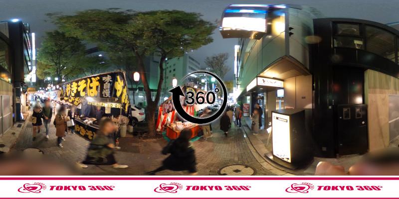 宮益御嶽神社-360度写真-05