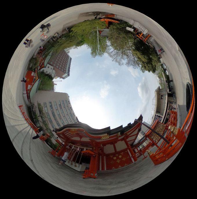 花園神社-360度写真